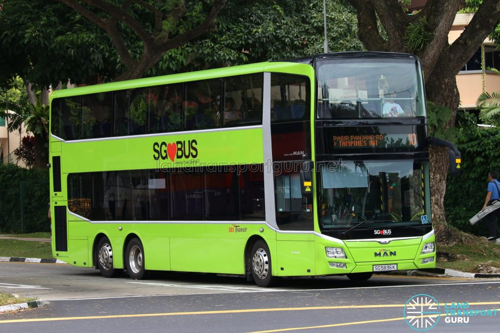 Service 10 - MAN Lion's City DD A95 (SG5836K)