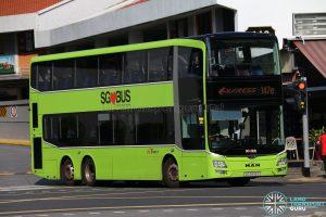 Service 147e - SBS Transit MAN Lion's City DD A95 (SG5898G)