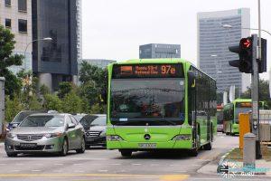 Service 97e (SG53 EDS) - Tower Transit Mercedes Benz O530 Citaro