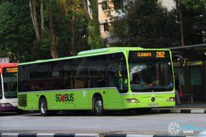 Service 282 - Tower Transit Mercedes Benz O530 Citaro (SBS6317Z)