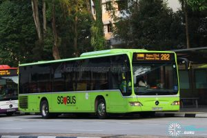 Service 282 (SG53 EDS) - Tower Transit Mercedes Benz O530 Citaro (SBS6317Z)