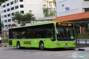 Service 284 (SG53 EDS) - Tower Transit Mercedes Benz O530 Citaro (SBS6365J)