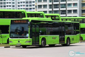 Go-Ahead Singapore Celebrates 53 years of Nation Building - Mercedes-Benz O530 Citaro (SBS6436M)