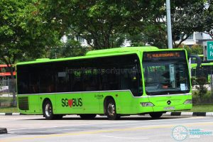 Majulah Singapura! Go-Ahead Singapore Mercedes-Benz Citaro O530 (SBS6504A)