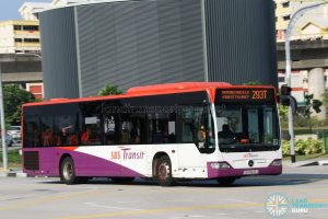 Service 293T - SBS Transit Mercedes-Benz Citaro (SBS6642J)
