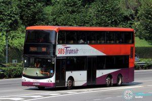 Service 198 - SBS Transit Volvo B9TL CDGE (SBS7323Z)