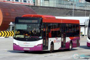 Service 291T - SBS Transit Scania K230UB Euro IV (SBS8548K)