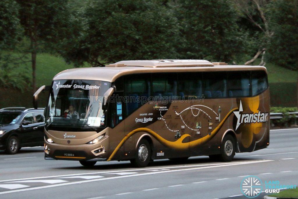 Cross Border TS6 - Transtar Travel Scania KIB (PC888A)