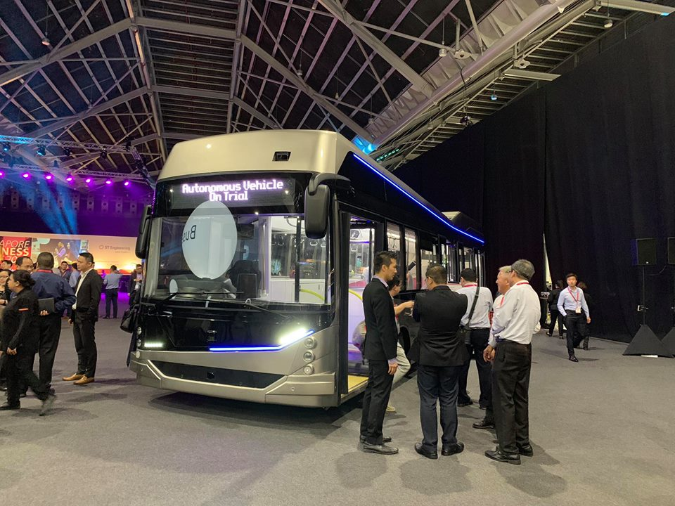 STE-Linkker Autonomous Electric Bus; Photo: New Overground