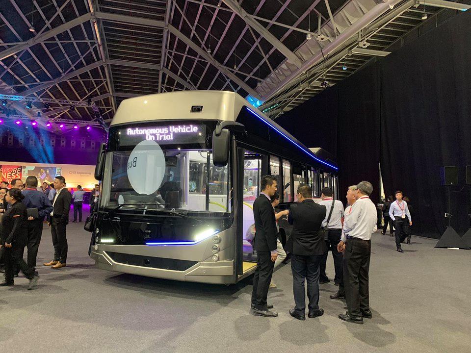 STE-Linkker Autonomous Bus (Photo: New Overground FB)
