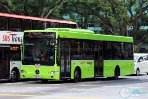 Service 190 - SMRT Buses Mercedes-Benz OC500LE (SMB107L)