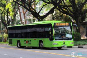Free Bridging Bus (EWL) - SMRT Buses Task Force 50 Mercedes-Benz Citaro (SG1119Z)