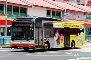 Service 983 - SMRT Buses MAN NL323F (SMB1597Z)