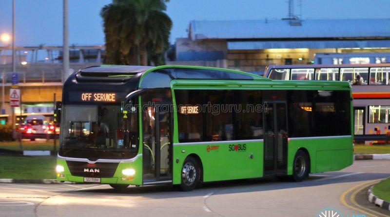 Off Service - SMRT Buses MAN A22 (SG1713H)