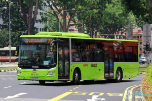 Service 991 - SMRT Buses MAN NL323F (SG1754P)