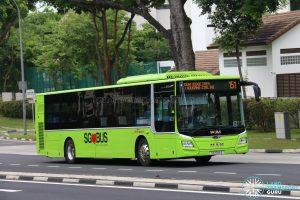 Service 151 - SBS Transit MAN A22 (SG1766E)