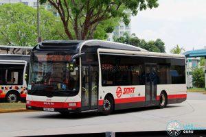 Service 991 - SMRT Buses MAN NL323F (SMB200A)