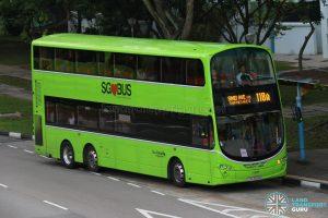 Service 118A - Go-Ahead Singapore Volvo B9TL Wright (SBS3489E)