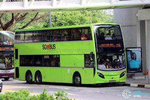 Service 106 - Tower Transit Alexander Dennis Enviro500 (SMB3566A)