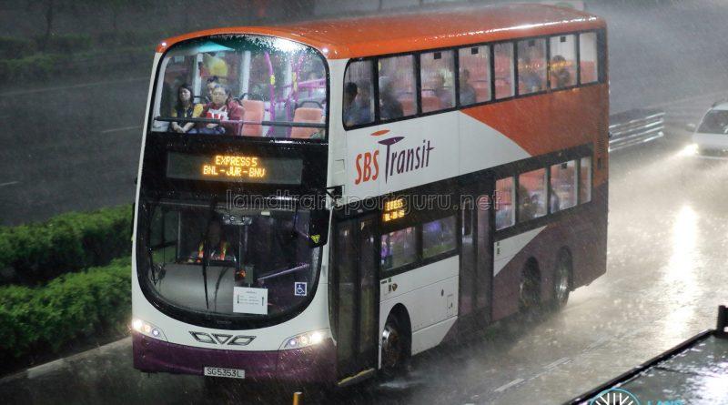 Express 5 - SBS Transit Volvo B9TL Wright (SG5353L)