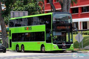 Service 67 - SMRT Buses MAN A95 (SG5759A)
