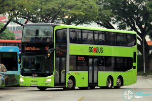 Service 151 - SBS Transit MAN Lion's City DD A95 (SG5853K)