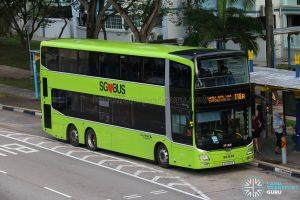 Service 118A - Go-Ahead Singapore MAN A95 (SG5913X)