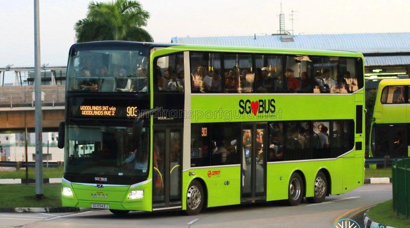 Service 903 - SMRT Buses MAN A95 (SG5943J)