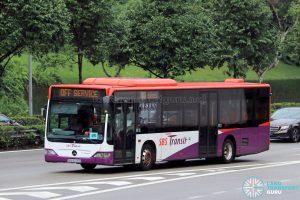 Off Service - SBS Transit Mercedes-Benz Citaro (SBS6020D)
