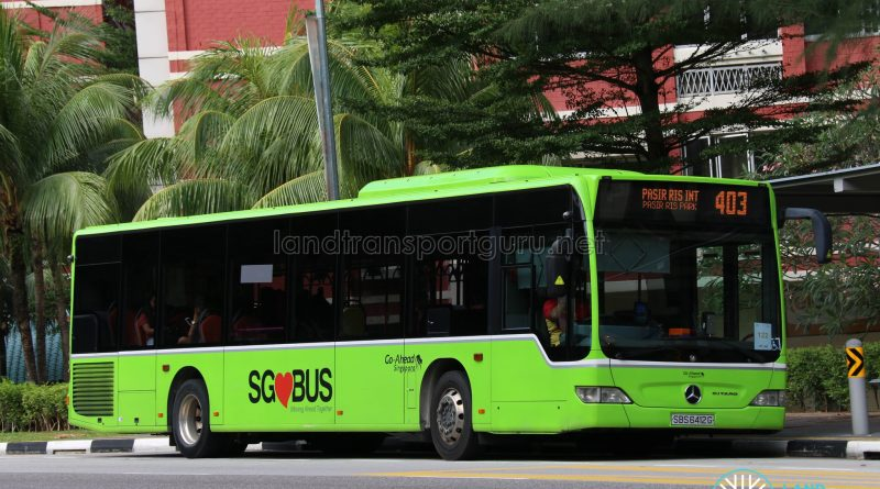 Bus 403 - Go-Ahead Mercedes-Benz Citaro (SBS6412G)