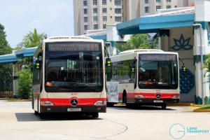 Service 985 - SMRT Buses Mercedes-Benz OC500LE (SMB74Y & SMB76S)