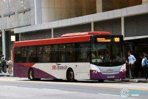 Service 100 - SBS Transit Scania K230UB Euro IV (SBS8194Y)