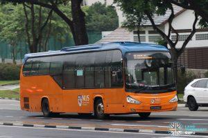 NUS Bus B1 - Scania K230UB (PA9558D)