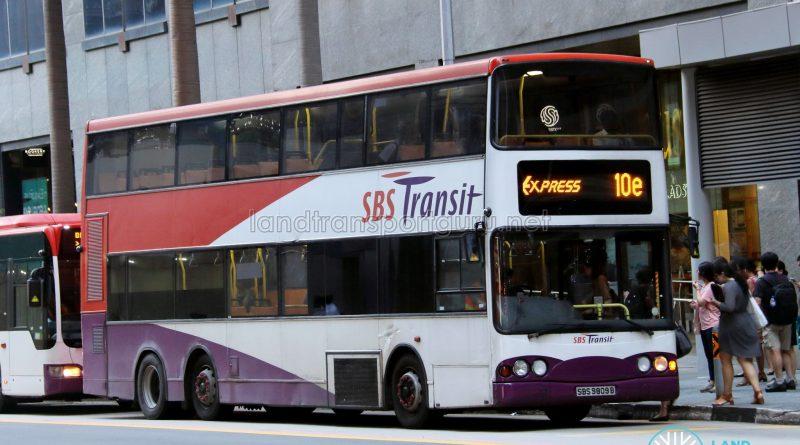 Express 10e - SBS Transit Volvo B10TL (SBS9809B)