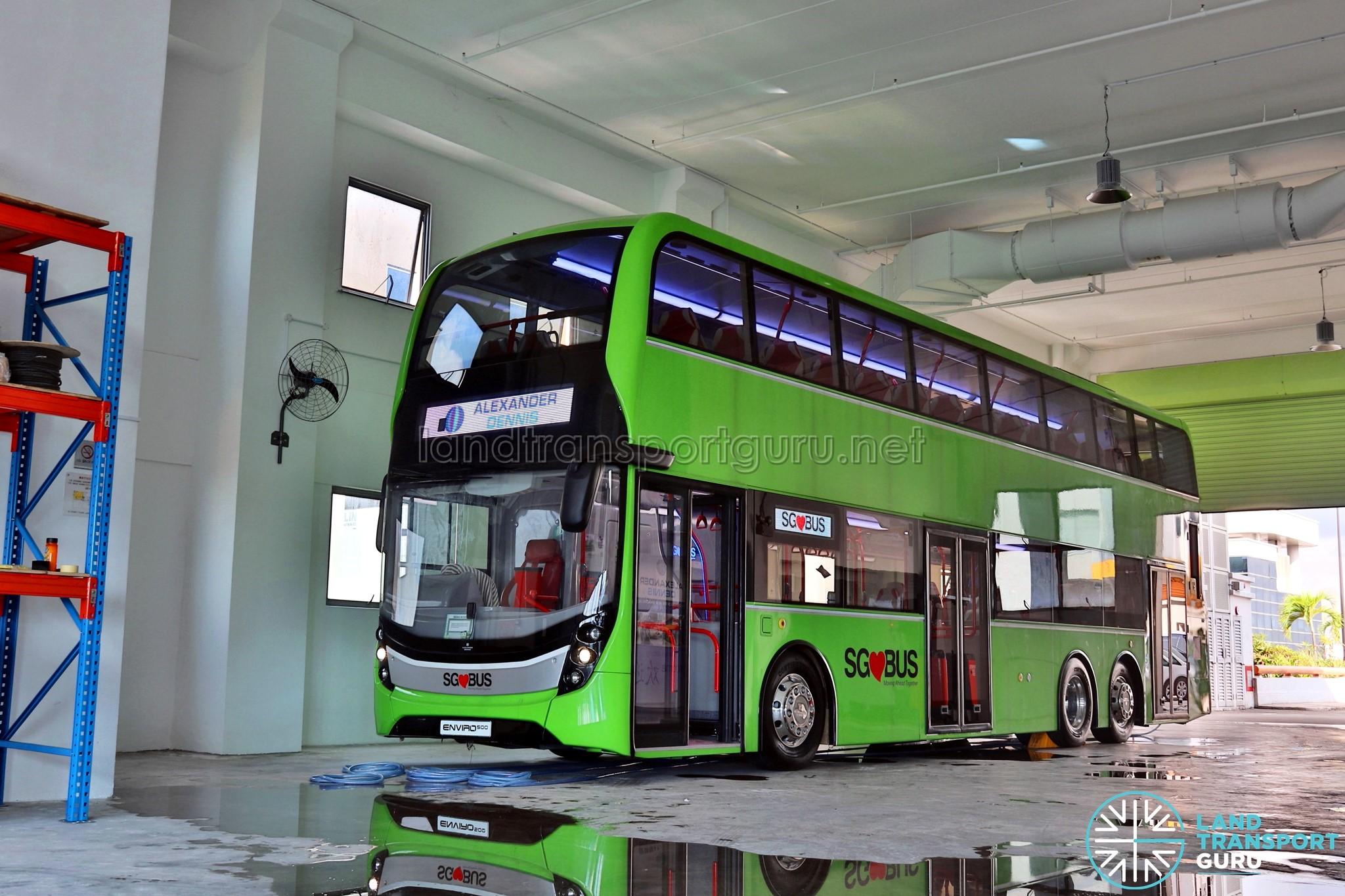 ADL Enviro500 3-Door Concept Bus – 2018 update