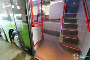 ADL E500 3-Door Concept Bus - 3rd door