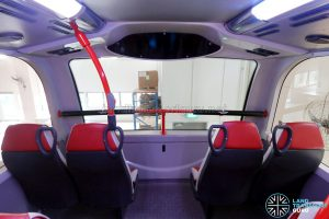 ADL E500 3-Door Concept Bus - Upper deck front