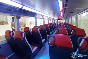 ADL E500 3-Door Concept Bus - Upper deck rear