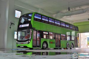 ADL E500 3-Door Concept Bus - Front