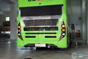 ADL E500 3-Door Concept Bus - Engine cover