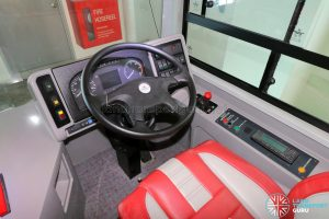 ADL E500 3-Door Concept Bus - Dashboard
