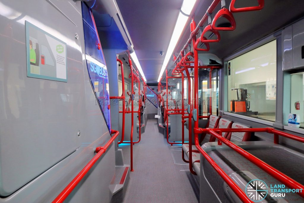 ADL E500 3-Door Concept Bus - Lower Deck