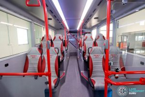 ADL E500 3-Door Concept Bus - Lower deck seating