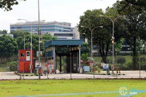 Ayer Rajah Bus Park - Bus Wash