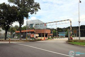 Ayer Rajah Bus Park - Entrance along Ayer Rajah Crescent
