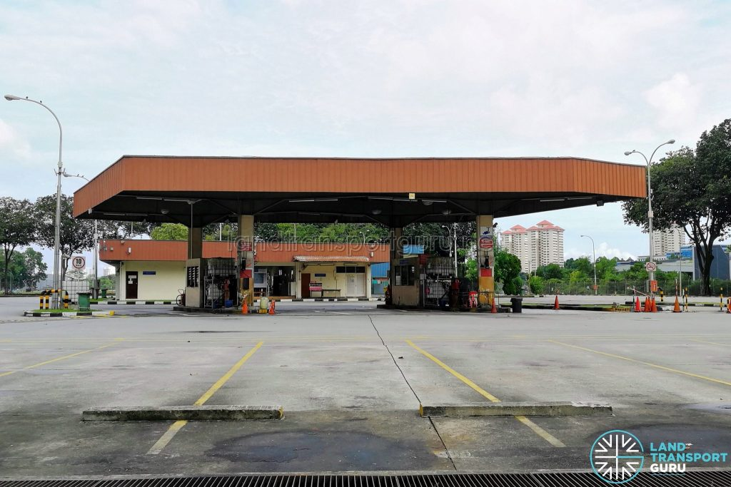 Ayer Rajah Bus Park - Fuel Pumps