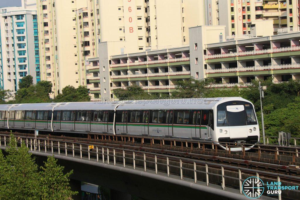 C151C Train Set 701/702 at Sembawang
