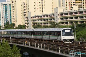 C151C Train Set 701/702 at Sembawang