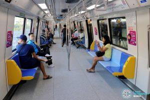 C151C Train Interior - Tip-Up Seats