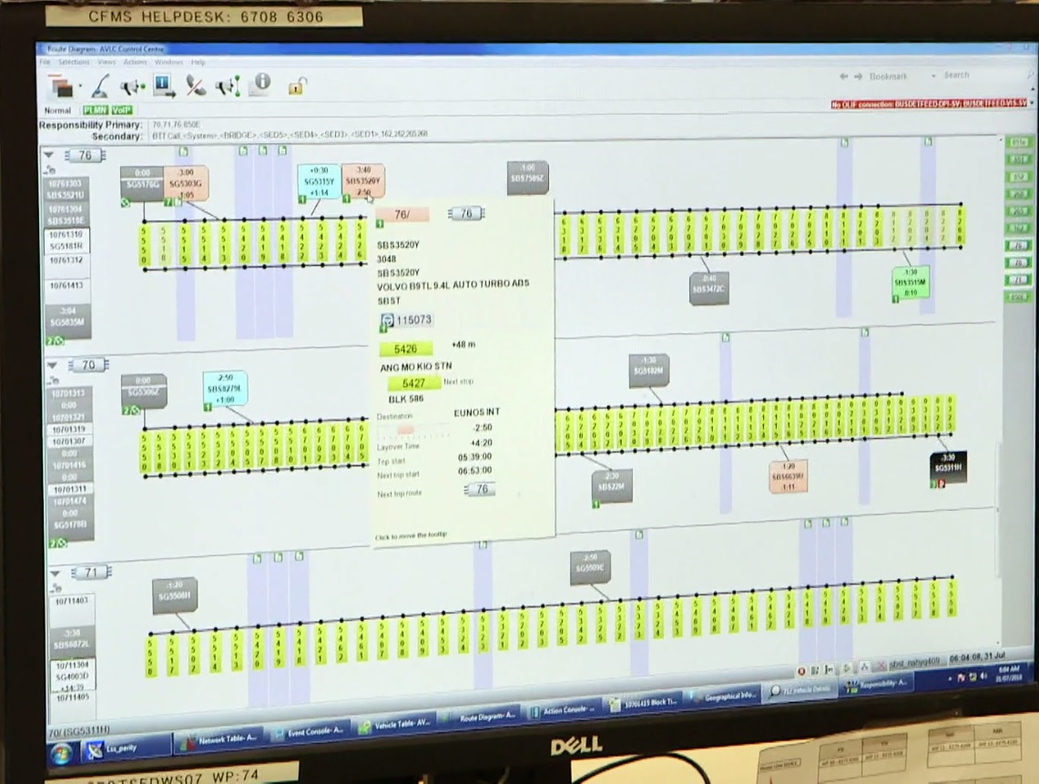 Trapeze Common Fleet Management System – Bus Operations